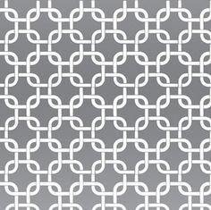 White & Silver Mylar Geometric Squares retro modern wallpaper: VCC0837   Art Borders: Karim Rashid & Werner Berges Non-Woven Wallcovering Book