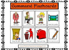 english commands in the classroom - Buscar con Google