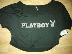 Playboy Bunny crop top on Mercari Jogger Pants Style, Playboy Bunny, Cute Casual Outfits, Fashion Pants, Joggers, Hello Kitty, Crop Tops, Sweatshirts, Sweaters