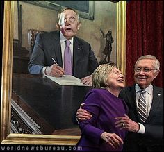 Harry Reid Used Campaign Contributions For Portrait  http://www.worldnewsbureau.com/2017/01/harry-reid-used-campaign-contributions-for-portrait.html