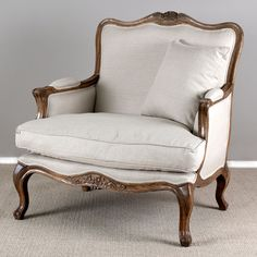 French 2 Seater Armchair