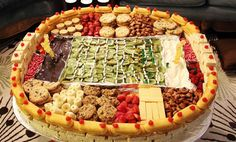 Snack stadium for Super Bowl - from the TODAY Show