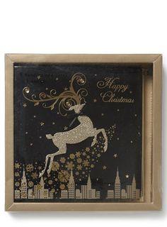 Ornate Reindeer Card