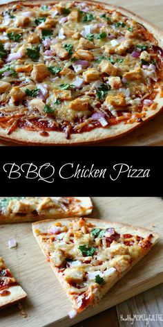 Delicious and easy BBQ Chicken Pizza