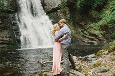 Bushkill Falls Engagement Wedding Photography Lauren Fair 0019