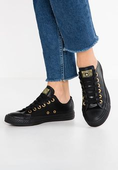 Converse CHUCK TAYLOR ALL STAR CRAFT - Trainers - black/gold for £59.99 (10/01/17) with free delivery at Zalando