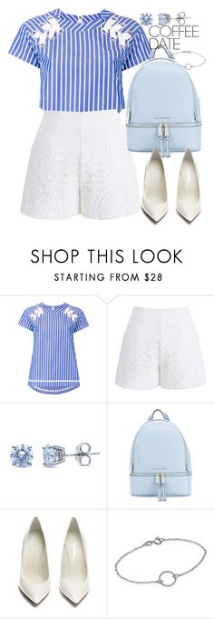 """""""Untitled #666"""" by dreamer3108 ❤ liked on Polyvore featuring Sacai, Chicwish, BERRICLE, MICHAEL Michael Kors, Maison Margiela and CoffeeDate"""
