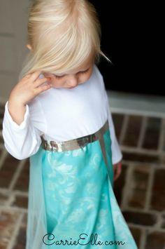 2 disfraces de Elsa de Frozen ¡sin coser!