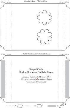 slablonen en patronen on pinterest card templates box templates and templates. Black Bedroom Furniture Sets. Home Design Ideas