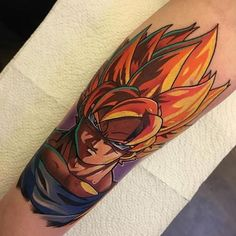 Dragon Ball Z tattoo - Visit now for 3D Dragon Ball Z shirts now on sale!
