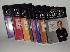 Suze Ormans Financial Freedom Creating True Wealth Now 1998 9 CD Disc Set