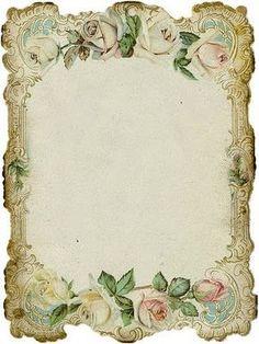 vintage decoupage 39 little bi Vintage Diy, Vintage Labels, Vintage Ephemera, Vintage Roses, Vintage Cards, Vintage Paper, Printable Vintage, Shabby Vintage, Printable Paper