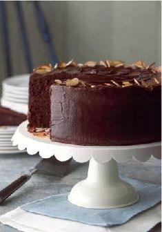 Best-Ever Chocolate Fudge Layer Cake — Extra chocolate and pudding mix in the batter make this fudge cake not just super rich, moist and amazingly delicious, but the best ever.