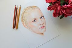 Learn how to paint vibrant and realistic portraits using colored pencils. This tutorial will show you every step and every color you'll need to use.