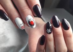 New years nails cute nails designs pinterest black and white nail designs black and white nail ideas cute nails festive prinsesfo Images