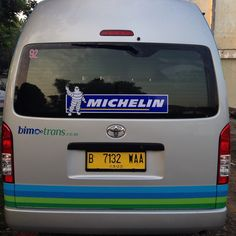 Supported by michelin tires
