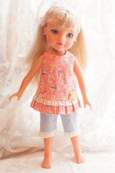 """14"""" Outfit for Hearts 4 for Hearts Doll by Dotsydoodle So Cute 