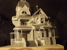 The Garrison Mansion by Ronald James, 1/12 scale.