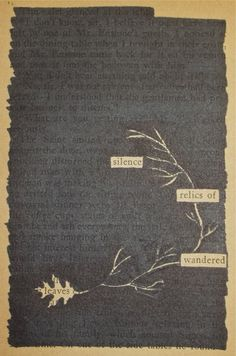 blackout poetry one of my favorite art therapy techniques for middle school high school and. Black Bedroom Furniture Sets. Home Design Ideas