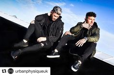 #Repost @urbanphysiqueuk with @repostapp  Our boys rocking both the Urban Bombers & Hoodies in our recent rooftop shoot. Get this look at http://ift.tt/1U7Fuch #UrbanPhysique #TeamUrban
