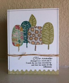 Gorgeous card created by Carol Didier using Simon Says Stamp Exclusives.