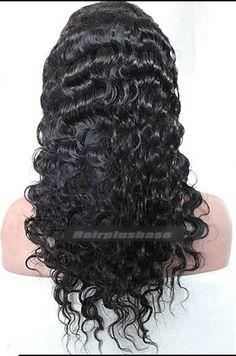 deep wave human hair wig Popular Hairstyles, Wig Hairstyles, Celebrity Wigs, Body Wave, Human Hair Wigs, Waves, Deep, Indian, Long Hair Styles