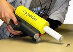 Bug Vacuum Gun - Take My Paycheck - Shut up and take my money! | The coolest gadgets, electronics, geeky stuff, and more!