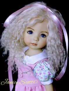 Gina, Dianna Effner Little Darling, painted by Geri Uribe Girl Doll Clothes, Girl Dolls, Dolls Dolls, Cute Baby Dolls, Cute Babies, Pretty Dolls, Beautiful Dolls, Doll Fancy Dress, Doll Face Paint