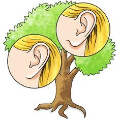 Do you have your father's earlobes?: Learn about genetic traits by taking a close look at your close relatives--and building a fun family tree! [Illustration by George Retseck]