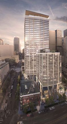Impeccable guide from The Urbanist about Seattle's new, in-construction, and future skyscrapers. New Skyline, Seattle Neighborhoods, Seattle News, Skyscrapers, The Neighbourhood, Construction, Future, Building, The Neighborhood