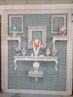 jewelry wall display - Google Search