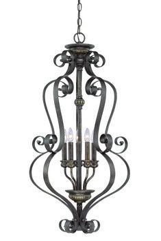 349/CraftmadeFanSolutions.com | Kingsley - Five Light Foyer