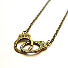 Handcuff Necklace now featured on Fab.