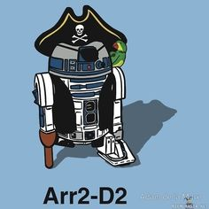 """""""What's a pirate's favorite Star Wars character? Happy International Talk Like a Pirate Day - September 2013 Star Wars Rebels, Star Wars Meme, Star Wars Art, Pirate Day, Pirate Life, Space Pirate, Hilarious, Funny Memes, Funny Cartoons"""
