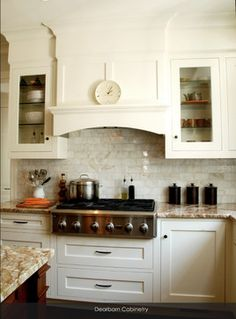 diy kitchen range hood... I would something like this-- but I ... on