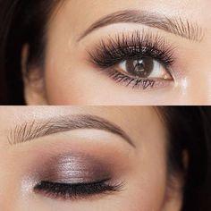 Smokey eye ♢ with lashes