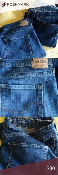 Two pairs size 12 Levi jeans These are sold as one item will not separate. In good condition Levi's Jeans