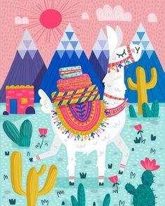 Check out this awesome post: Cute alpacas wallpaper Alpacas, Llama Arts, Skull Wall Art, Cute Alpaca, Cute Wallpapers, Art Lessons, Watercolor Art, Art For Kids, Wall Art Prints