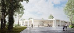 Gallery of Historic Site in Belgium to Receive New Pool and Fitness Center - 8
