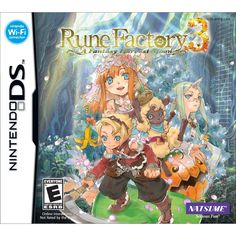 Rune Factory 3 - A Fantasy Harvest Moon  I can't wait till the fourth one on 3DS
