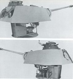 German Panther gun turret module.