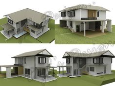 Dyl Architecture and Design: Project: Proposed Double Storey Detached House Double Storey House, Detached House, House Plans, How To Plan, Mansions, Architecture, House Styles, Home Decor, Ideas