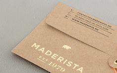 Boutique branding & interiorism — Maderista | Anagrama