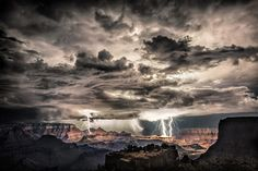 The lightning, photographed by Scott Stulberg, was captured hitting different parts of the country – from the Grand Canyon to downtown Los Angeles. Description from theboldcorsicanflame.wordpress.com. I searched for this on bing.com/images