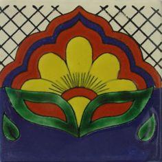 Mexican Talavera border tiles: om-146