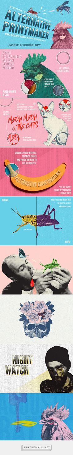 Alternative Printmaker - Extras - YouWorkForThem #photoshop #effects