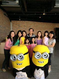 Gladys Tan's Photo: My family + the Minions from #EmergeMINT! @Careen @MiahVun @Andrea0ng & team did such a greattt job. SALUTE!   Lockerz