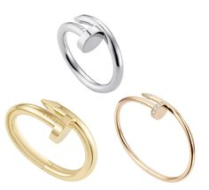 """""""Juste un clou"""" Cartier's newest collection ~Translates to """"just a nail,"""" ring/bracelet"""