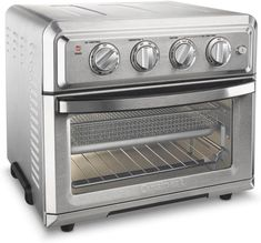 online shopping for Cuisinart Air Fryer Toaster Oven, Silver (Renewed) from top store. See new offer for Cuisinart Air Fryer Toaster Oven, Silver (Renewed) Small Kitchen Appliances, Kitchen Gadgets, Kitchen Tools, Kitchen Small, Kitchen Recipes, Kitchen Store, Kitchen Supplies, Oven Recipes, Smart Kitchen