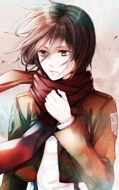 Anime: Shingeki no Kyojin Personagem: Mikasa Ackerman Mikasa, Armin, Manga Art, Manga Anime, Anime Art, Gurren Laggan, Yuri!!! On Ice, Connie Springer, Accel World